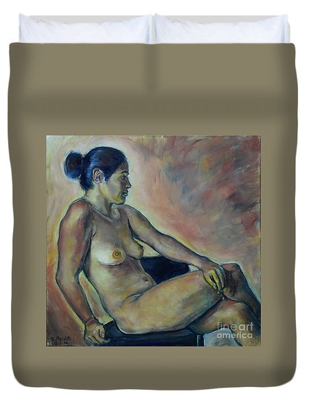 Naked Suri 2 Duvet Cover