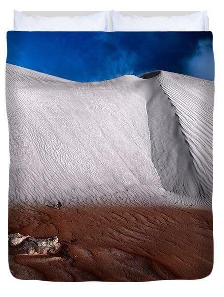 Nambung Desert Floor Duvet Cover