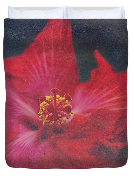 Nanakuli Floral Celebration Duvet Cover by Sharon Mau