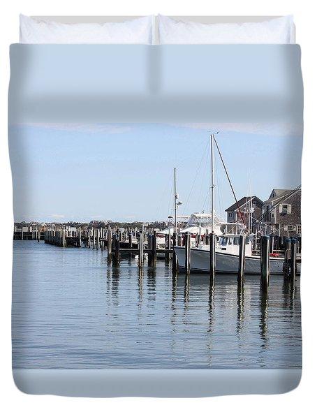 Nantucket Harbor Duvet Cover