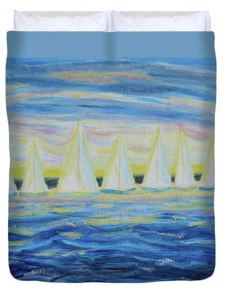Nantucket Sunrise Duvet Cover