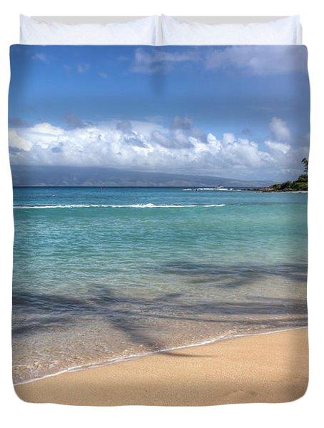 Napili Bay Maui Duvet Cover