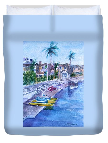 Naples Fun Duvet Cover