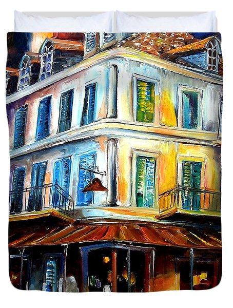 Napoleon House Duvet Cover by Diane Millsap