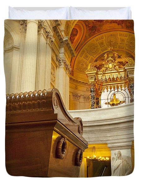 Napoleon Tomb - Paris Duvet Cover