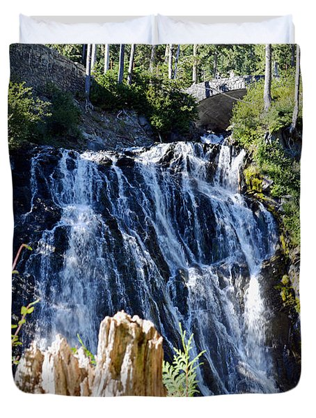 Narada Falls Duvet Cover