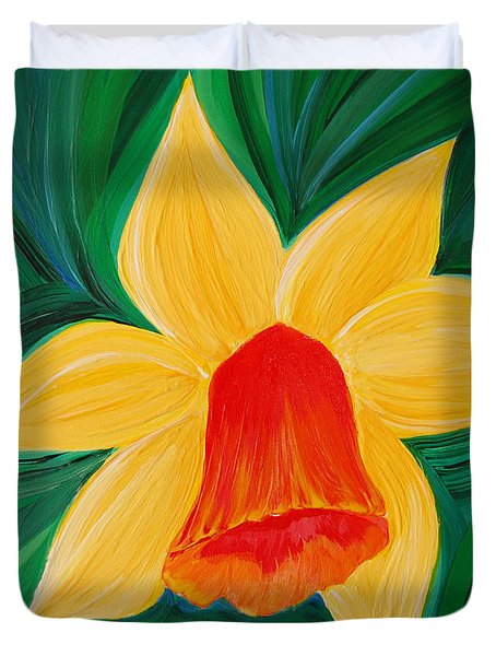 Narcissus Diva By Jrr Duvet Cover by First Star Art
