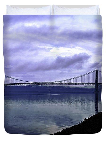 Narrows Bridge Duvet Cover
