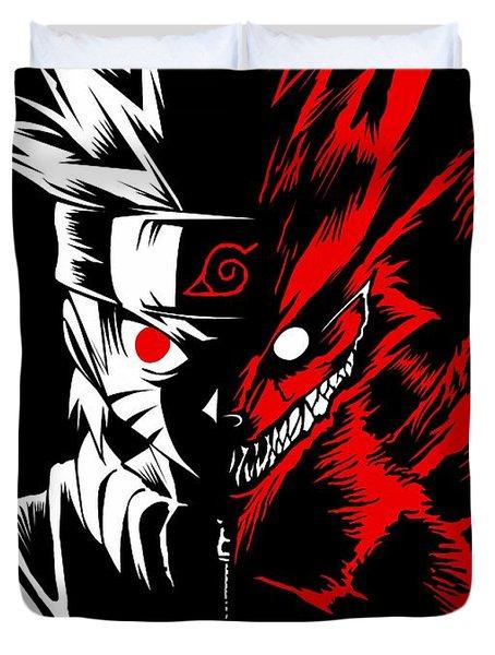 Naruto Two Face Duvet Cover