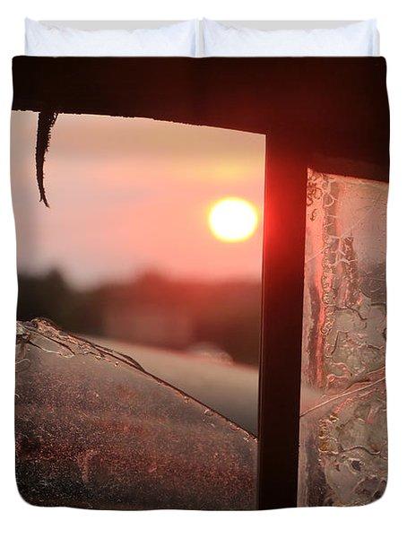 Nash Lafayette Sunset Duvet Cover by Christopher McKenzie