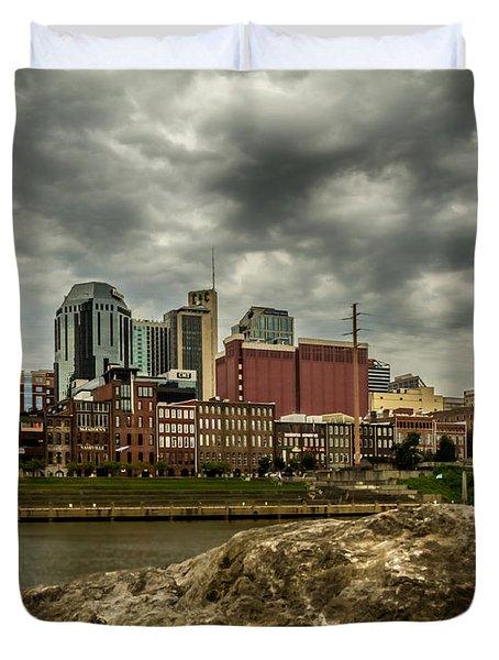 Nashville Tennessee Duvet Cover