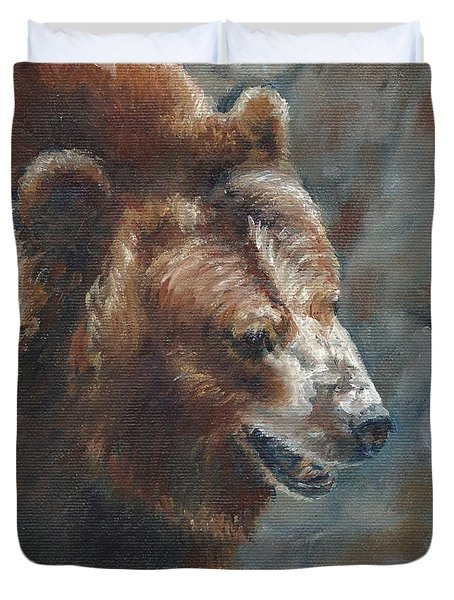 Nate - The Bear Duvet Cover