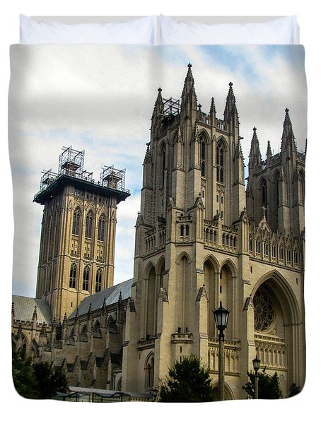 National Cathedral Duvet Cover