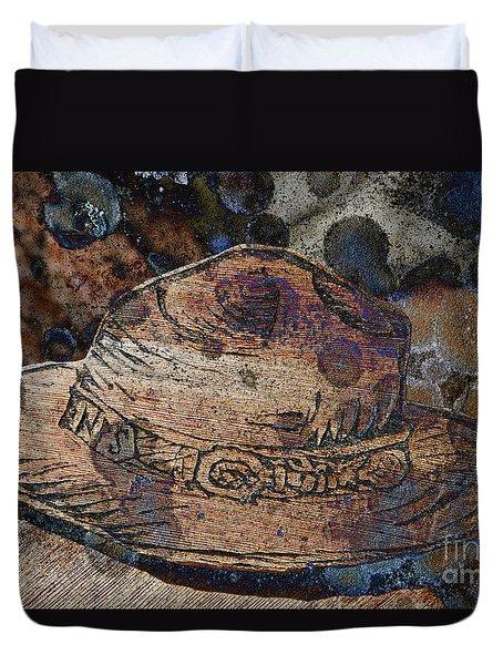 National Park Service Ranger Hat Duvet Cover