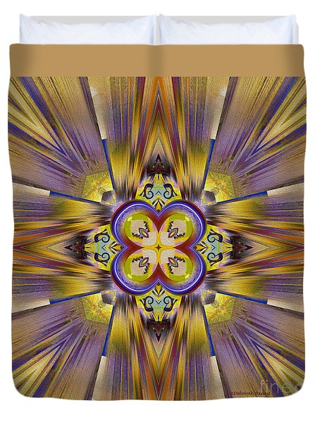Native American Spirit Duvet Cover by Deborah Benoit