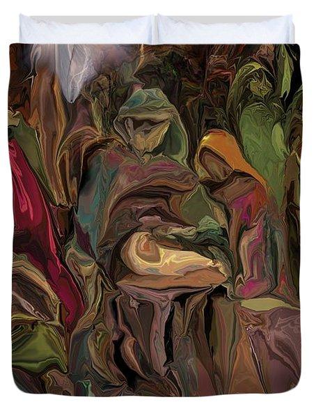 Nativity 1113 Duvet Cover by David Lane