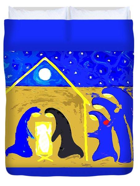 Nativity 2 Duvet Cover by Patrick J Murphy