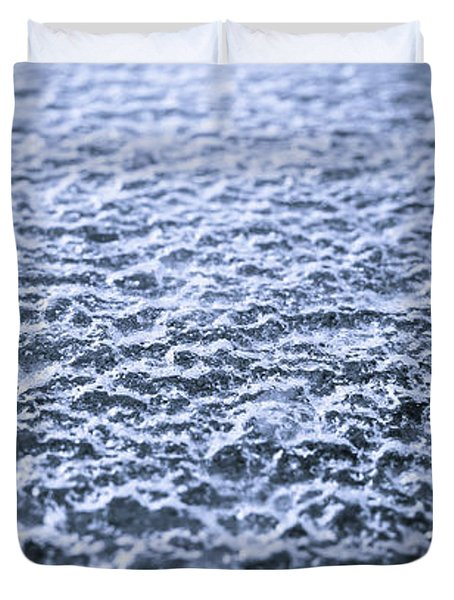 Natural Abstracts - Icy Surface Duvet Cover
