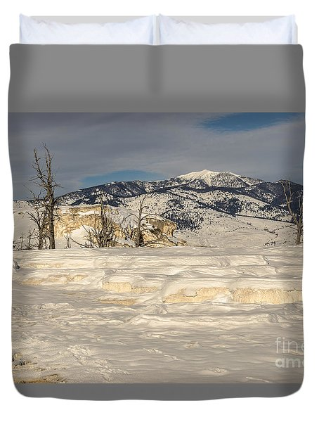 Natural Beauty Duvet Cover by Sue Smith
