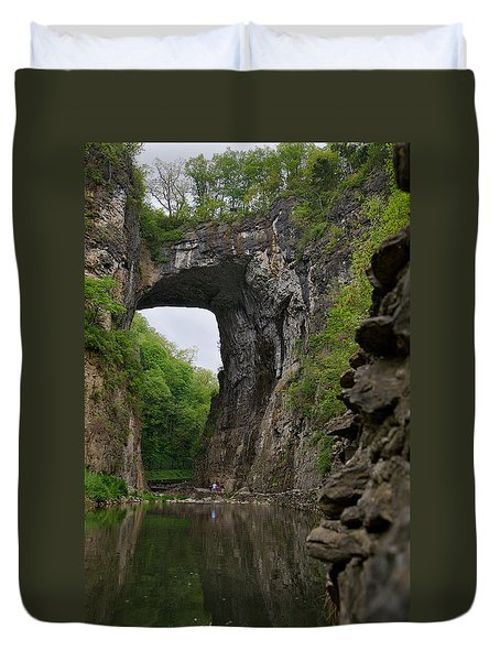 Natural Bridge Duvet Cover