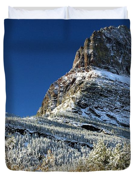 Natural Picture Frame Duvet Cover by Adam Jewell