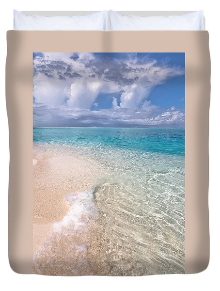 Natural Wonder. Maldives Duvet Cover