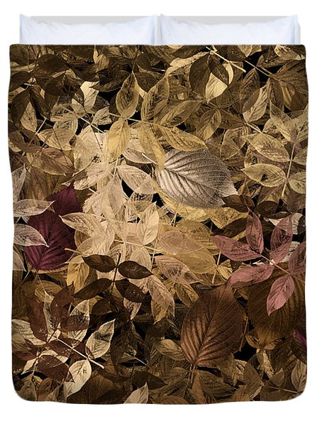 Naturaleaves - Gla02f Duvet Cover by Variance Collections