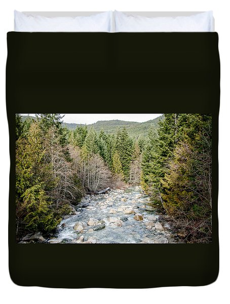 Island Stream Duvet Cover