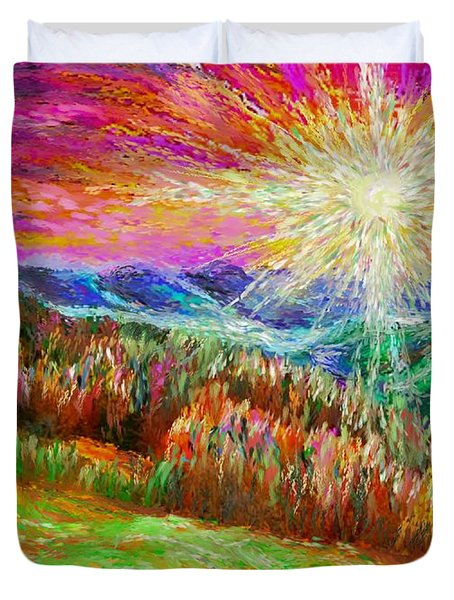 Nature 1  25 2015 Duvet Cover