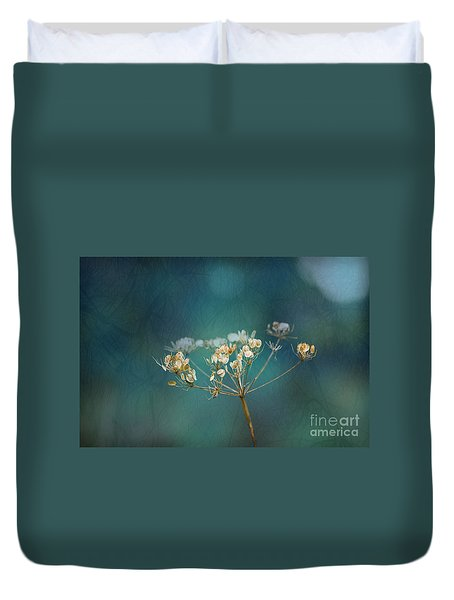 Duvet Cover featuring the photograph Nature Is Art by Liz  Alderdice