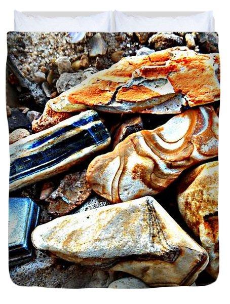 Nature Rocks Duvet Cover