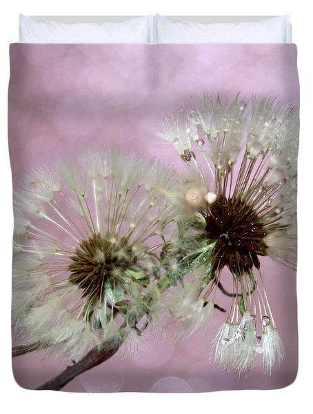 Nature Wish Duvet Cover by Krissy Katsimbras