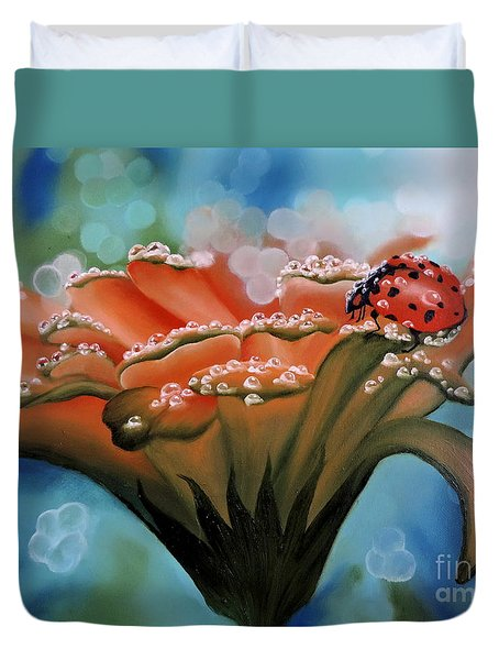 Natures Blessings Duvet Cover by Dianna Lewis