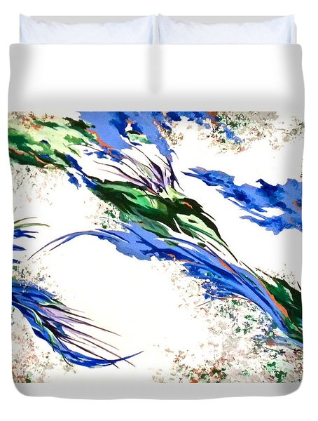 Nature's Essence Duvet Cover by Jan Law