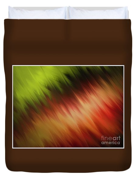 Nature's Feathers Duvet Cover