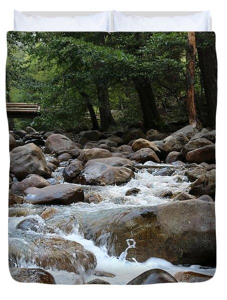 Nature's Flow  Duvet Cover