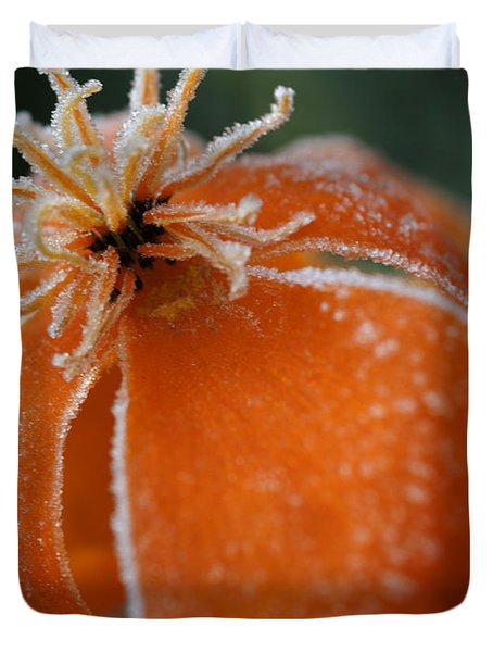 Natures Frost Duvet Cover