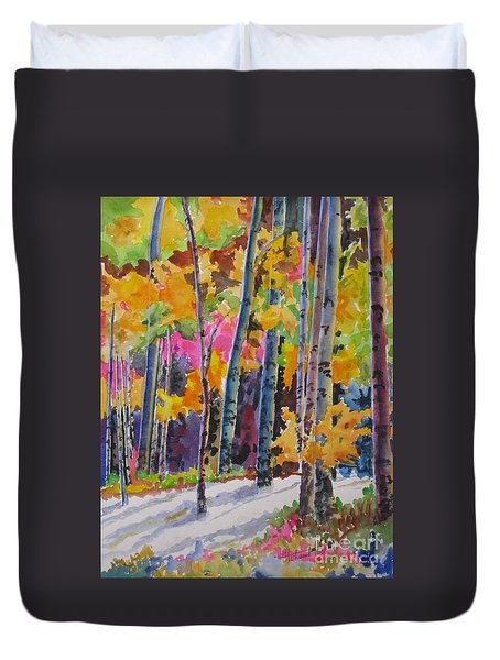 Nature's Glory Duvet Cover by Mohamed Hirji