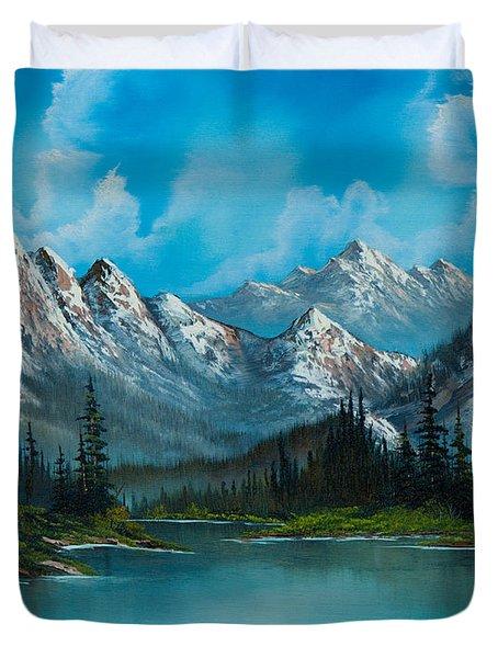 Nature's Grandeur Duvet Cover by C Steele
