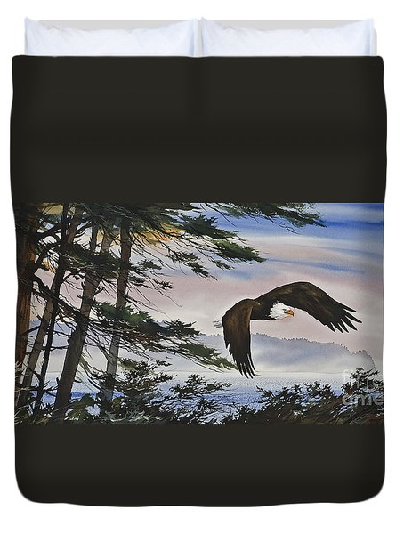 Natures Grandeur Duvet Cover by James Williamson