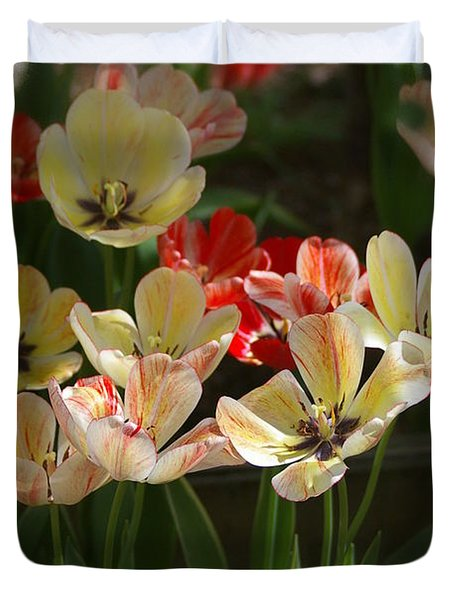 Duvet Cover featuring the photograph Natures Joy by Randy Pollard