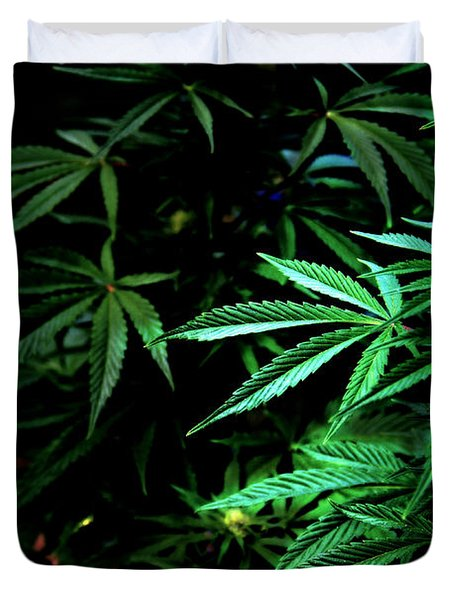 Duvet Cover featuring the photograph Nature's Medicine by Jeanette C Landstrom