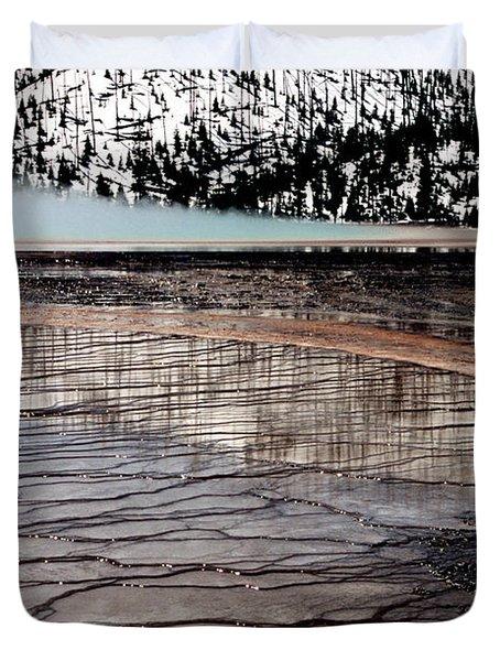Nature's Mosaic II Duvet Cover by Sharon Elliott