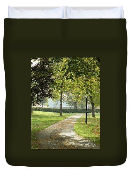Nature's Path Duvet Cover