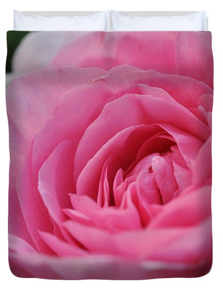Nature's Pink Duvet Cover by Sabine Edrissi