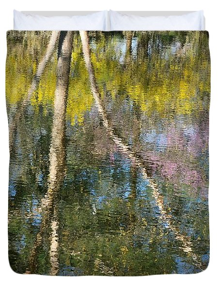 Nature's Reflections Duvet Cover