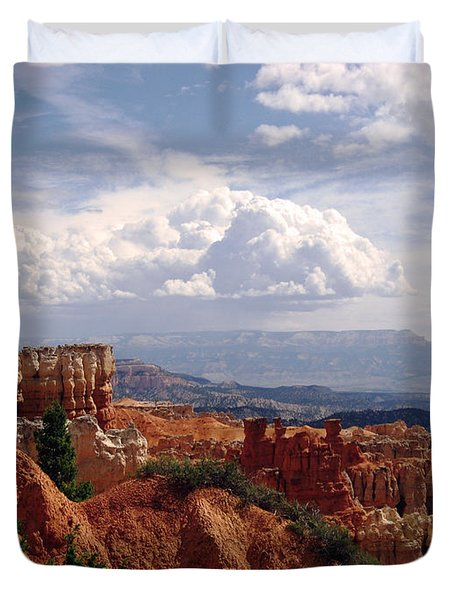 Duvet Cover featuring the photograph Nature's Symmetry by Meghan at FireBonnet Art