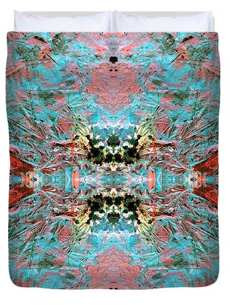 Crystallizing Energy Duvet Cover