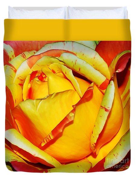 Nature's Vivid Colors Duvet Cover by Kaye Menner