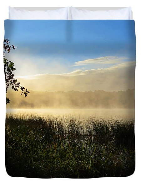 Duvet Cover featuring the photograph Nature's Way by Dianne Cowen